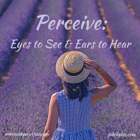 Perceive-Eyes to See and Ears to Hear