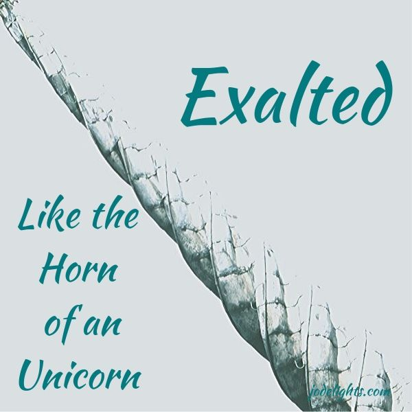 Exalted Like the Horn of an Unicorn