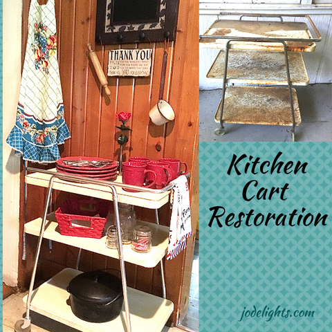 Vintage Kitchen Cart Restoration