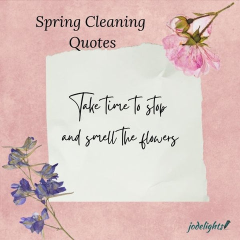 Quotes on Spring Cleaning