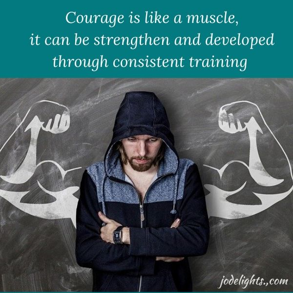 courage muscle