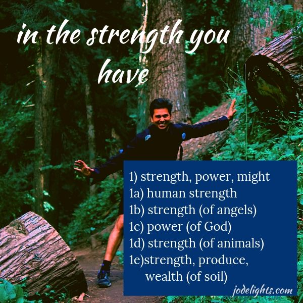 strength Strong's definition