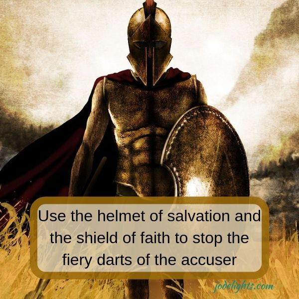 helmet of salvation shield of faith