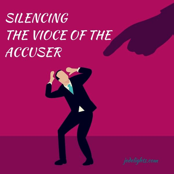 man if fear of the accuser