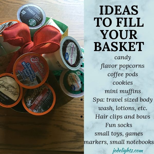 Ideas to fill your basket