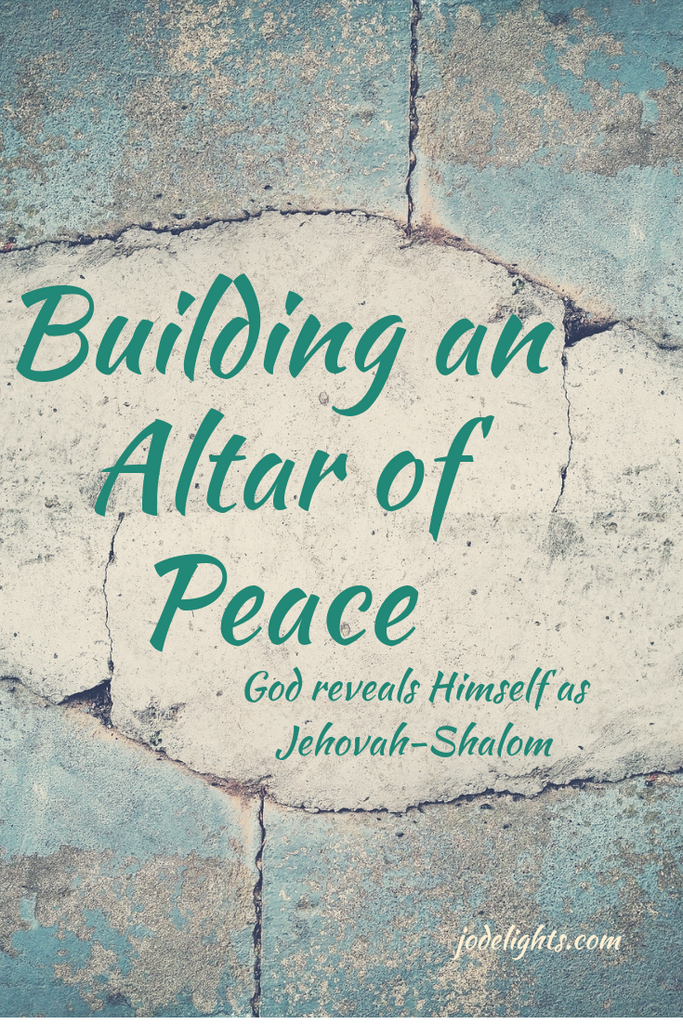 Building an altar of Peace