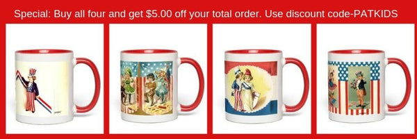 Patriotic Kids mugs