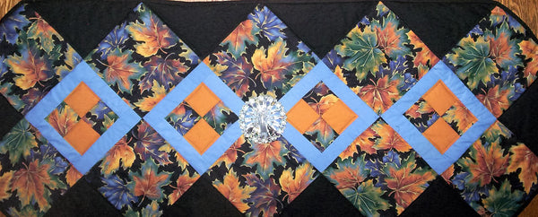 Fall leaves Table Runner