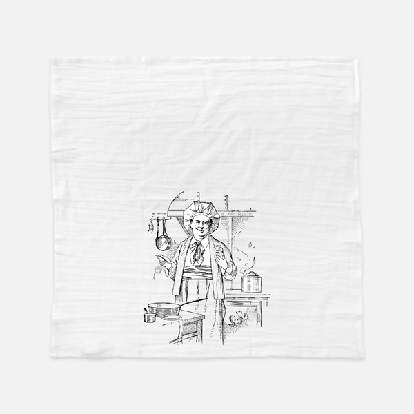 A Cook's Prayer Chef Tea Towel
