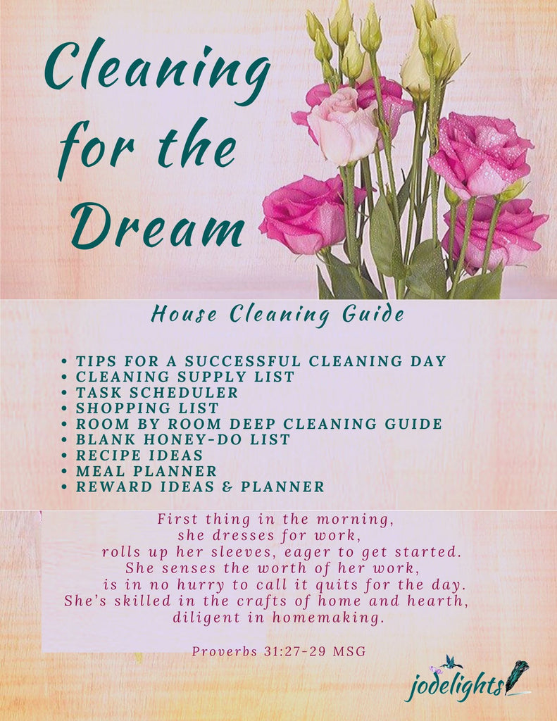 Cleaning for the Dream Guide and Worksheets