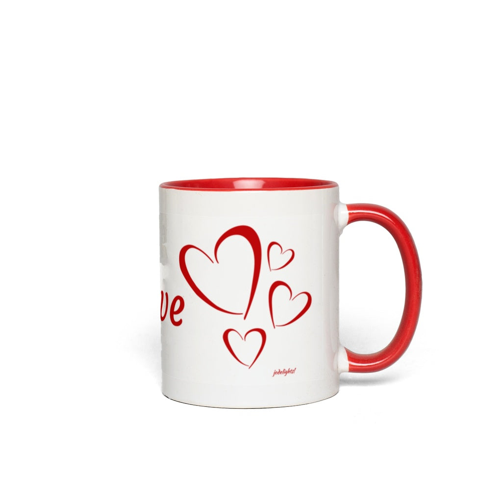 Accent Mugs Love