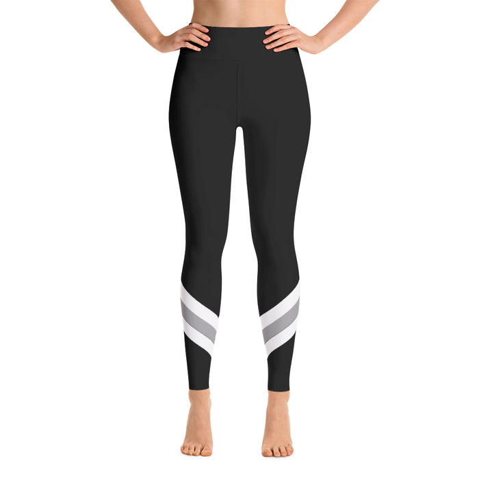 Namaste High Waisted Leggings - Black