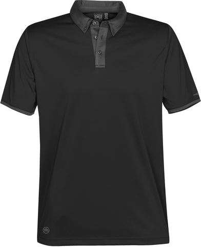 Men's Rhodes Button Collar Polo