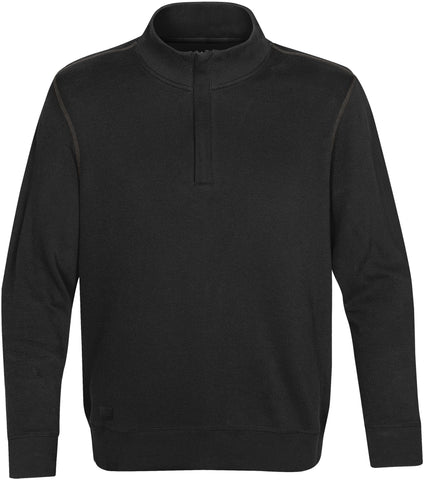 Men's Hanford 1/4 Zip Mock Neck
