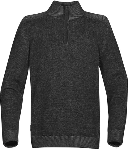 Men's Loden L/S Mock Neck