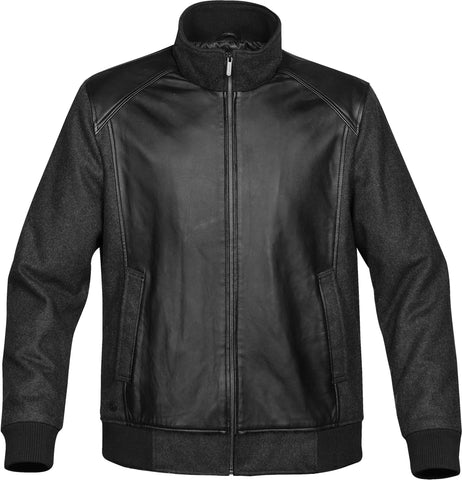 Men's Hudson Leather/Wool Jacket