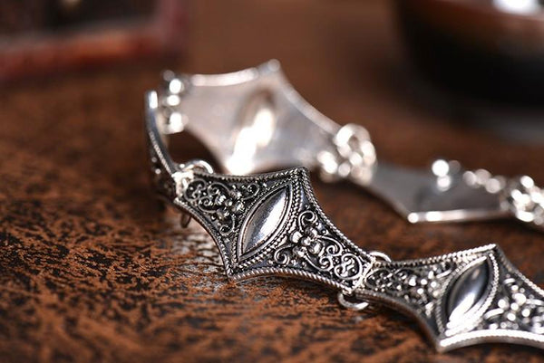 Antique Silver Choker