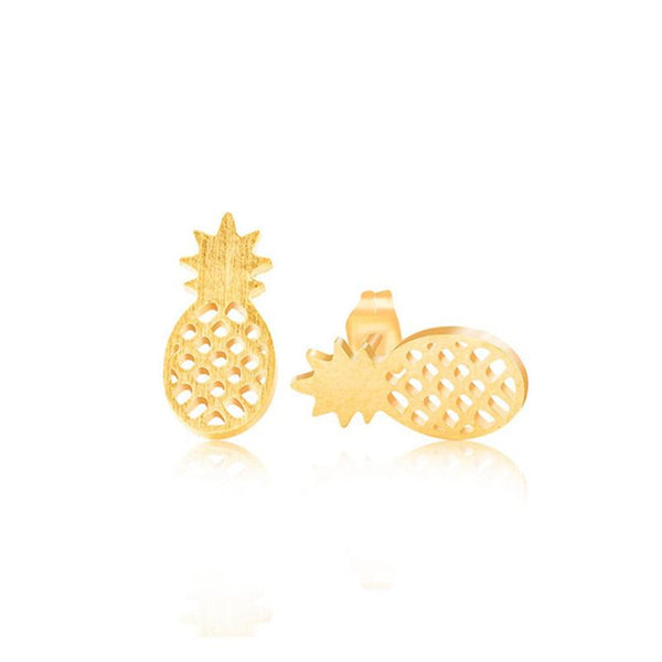 Pineapple Stud Earrings (3 Styles)