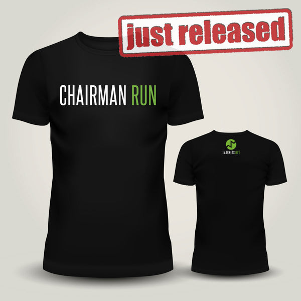 IML Gear - Men's Black Classic Tee - CHAIRMAN RUN