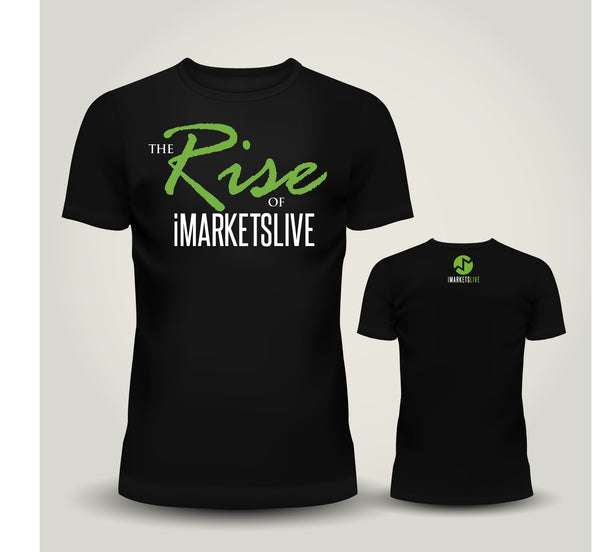 IML Gear - Women's Black Classic Tee - The RISE of iMARKETSLIVE