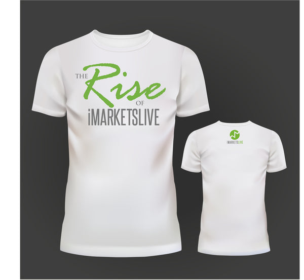 IML Gear - Women's White Classic Tee - The RISE of iMARKETSLIVE