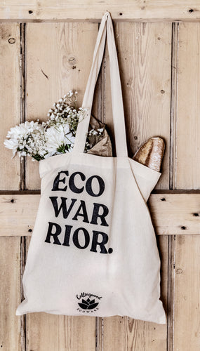 Eco Warrior Tote Bag - 100% Organic Cotton