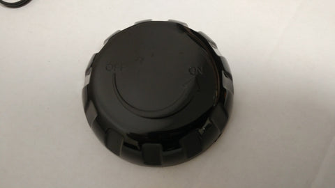 Air Control Cover Black Round