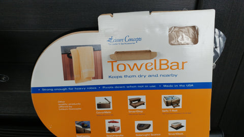 Towel Bar -  Cabinet Mount
