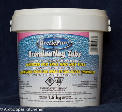 Arctic Pure Bromine Tabs - 2 sizes available
