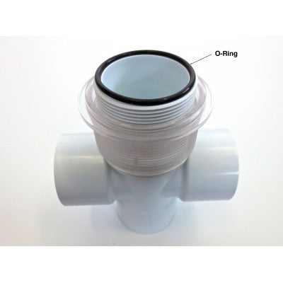 O-Ring Diverter Cap Clear