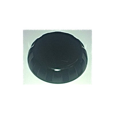 Handle Notched Black Round