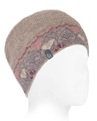 Alpaca Beanie - Icelandic - Dusty Rose