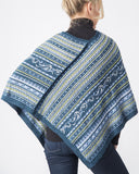 Wave Alpaca Shoulder Wrap