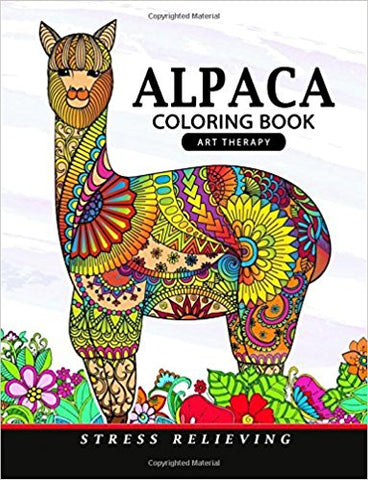 Alpaca Coloring Book