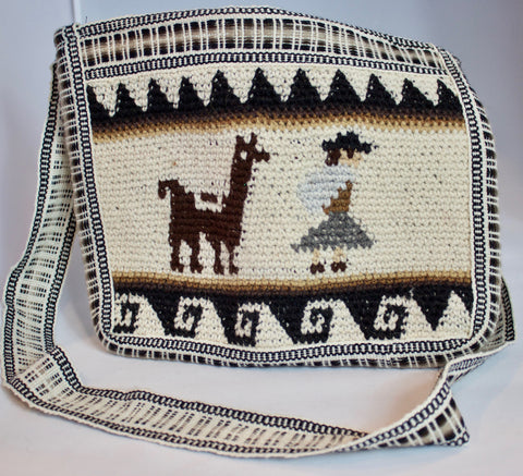 Peruvian Hand Knit Purse