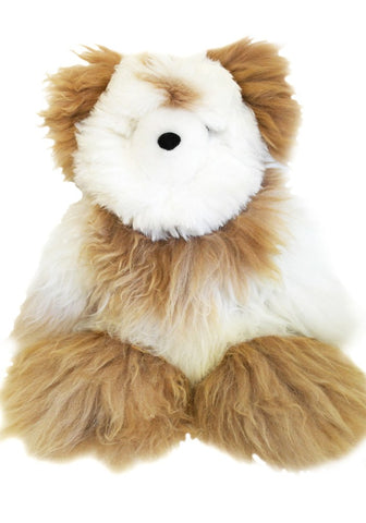 Alpaca stuffed bear - 21""
