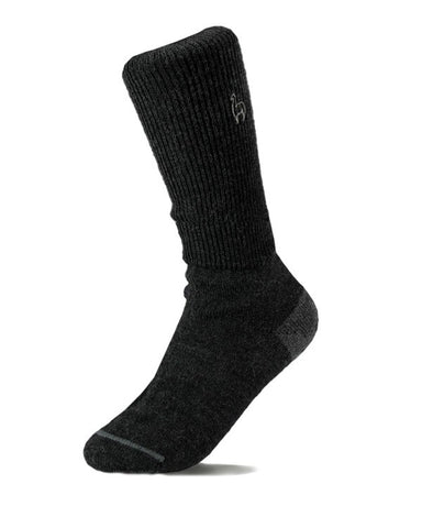 Alpaca business socks - black