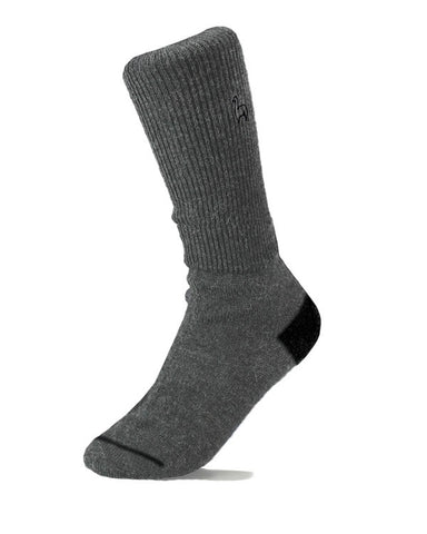 Alpaca business socks - charcoal