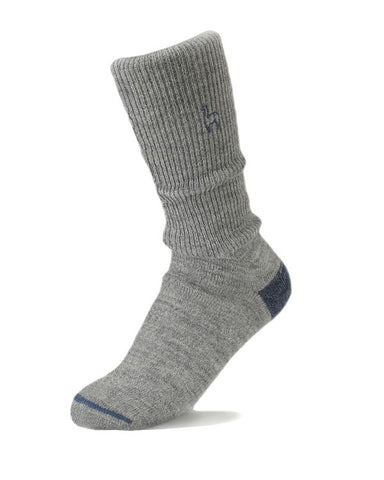 Alpaca business socks - smoke