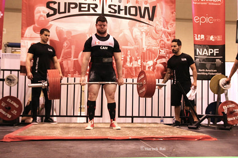Male Powerlifter at 2018 Toronto Super Show
