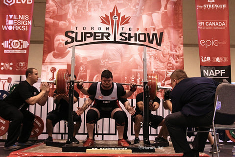 Male Powerlifter at 2018 Super Show