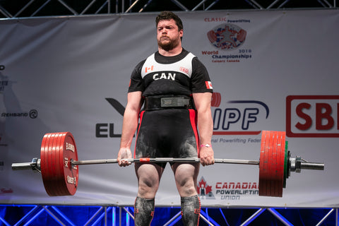 Male Powerlifter Lifting