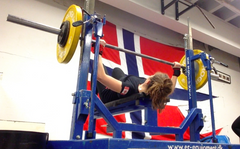 Female Powerlifter - Benchpress