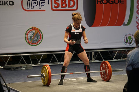 Rhaea Stinn Preparing to Lift Competitively