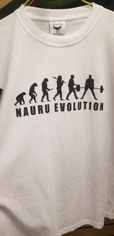 Nauru Evolution T-Shirt