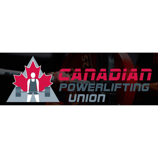 Canadian Powerlifting Union Banner Canadian Powerlifting Union Banner