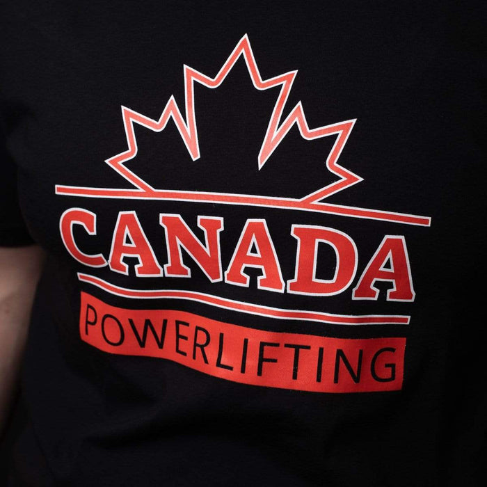 Inner Strength Products Shirts Inner Strength Products - Canada Powerlifting T-Shirt