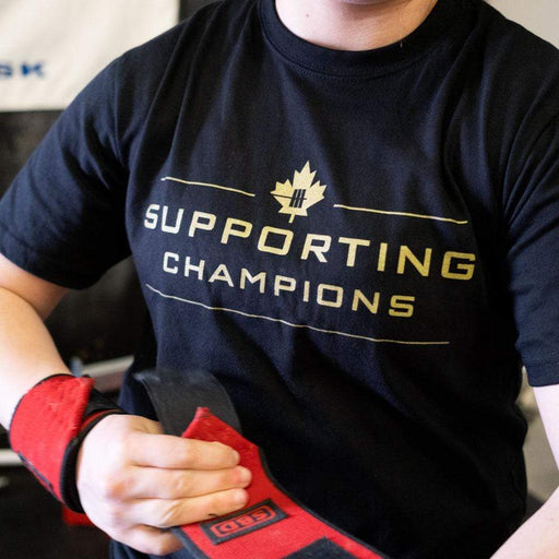Inner Strength Products Shirts Unisex Small Inner Strength Products - Supporting Champions Tee