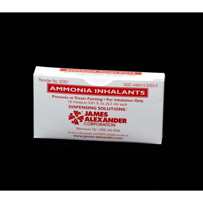 Inzer Advance Design Smelling Salts Ammonia Capsules 10 pack