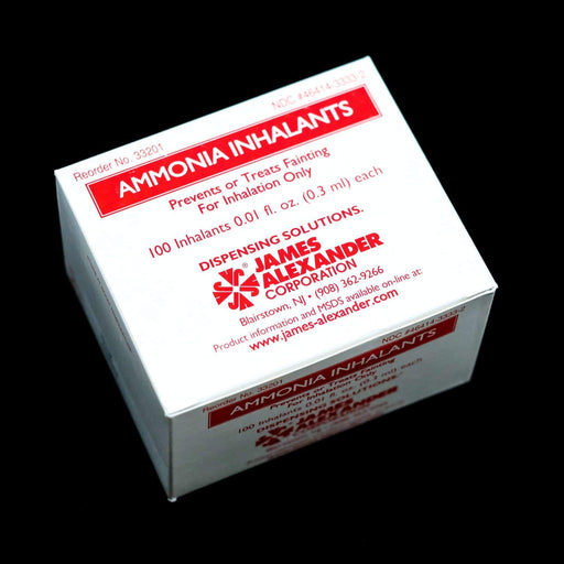 Inzer Advance Design Smelling Salts Ammonia Capsules Box of 100